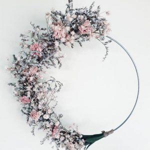 Couronne florale Sèves Design Natura
