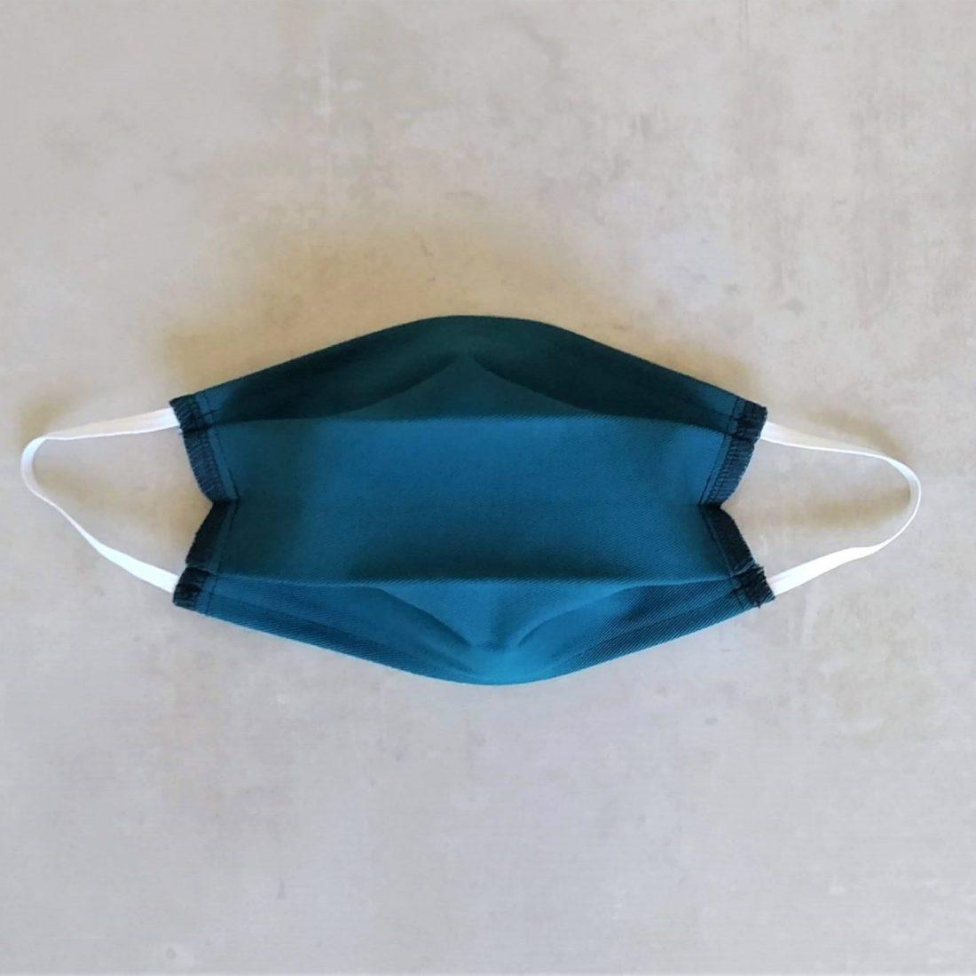 Voici votre masque barrière une fois déplié.